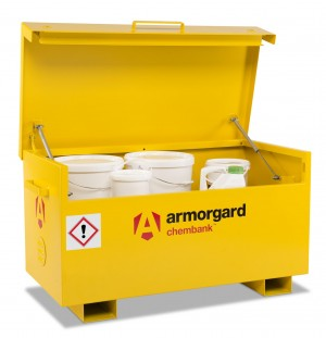 Armorgard Chembank Secure Chemical Storage Box Store 1275x665x660mm