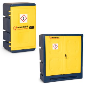 Armorgard ChemCube Secure Chemical Storage Cabinet (Various Sizes)