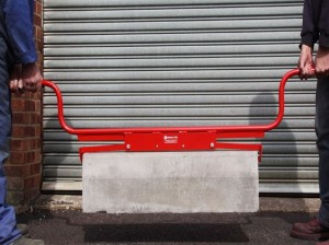 Mustang Kerbstone & Slab Carrier / Lifter - End Grip with High Handle