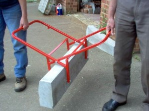 Mustang Kerbstone Carrier / Lifter - Side Grip