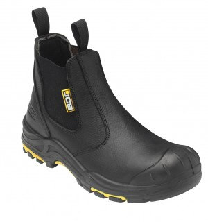 JCB Dealer Safety Work Boots Black (Sizes 6-13)