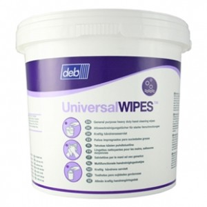 Deb Universal Hand Cleaning Wipes (Tub of 150)