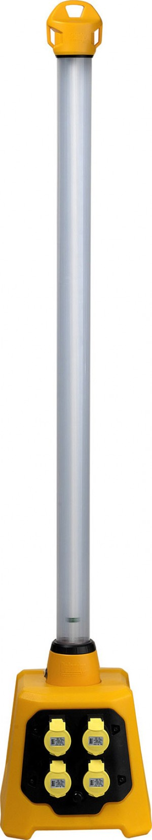 Defender 4ft UPLIGHT V3 Portable Fluorescent Work Light 110v (Stick & Base Included)