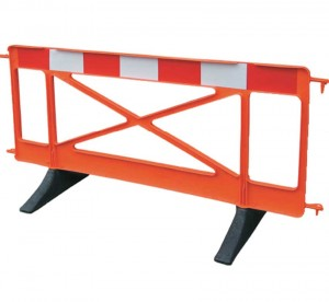Defiance Pro Road Work Safety Barrier 2mtr