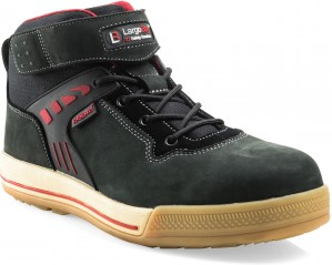 Buckler Largo Bay High-Top Safety Work Trainer Boots Black (Sizes 6-13)