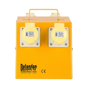 Defender Distribution Unit / Splitter Box 4-Way 16amp (110 or 240v)