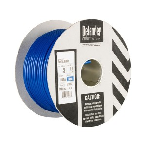 Defender H05 VV-F Low Temp 230v Blue Arctic Cable 100mtr Drum (various options)