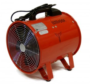 Elite 300mm Fume Extractor 12in with or without Ducting Hose (110 or 240v)
