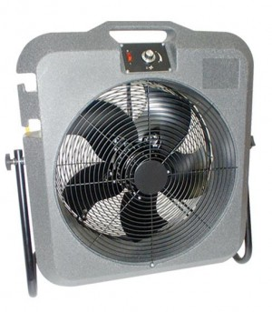 Elite Tempest 5000cfm Industrial Cooling Fan & Trolley (110 or 240v)