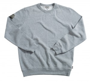 JCB Essential Sweatshirt Pullover Jumper Grey (Sizes M-XXL)