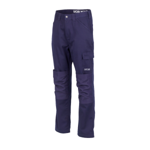 JCB Essential Cargo Work Trousers Navy (Various Sizes)