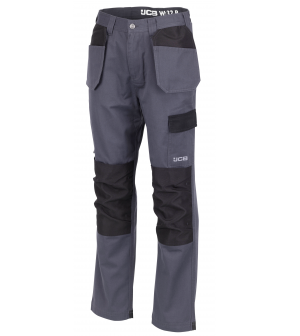 JCB Essential Plus Work Trousers Grey (Various Sizes)