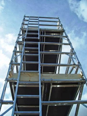 Euro Ladder Frame 3T Alloy Scaffold Tower - D/W x 3m Length (various heights)