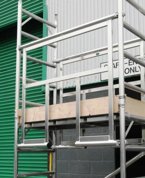 Euro Towers AGR1 2m Advanced Guardrail Frame Only