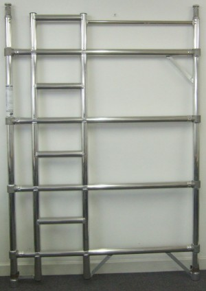 Euro Towers FDL4 4 Rung Double Width Ladder Frame