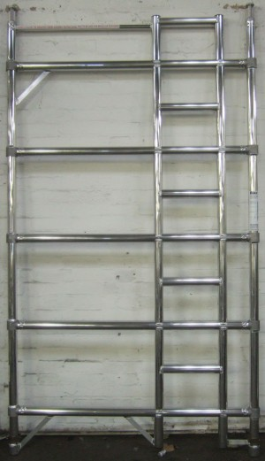 Euro Towers FDL5 5 Rung Double Width Ladder Frame