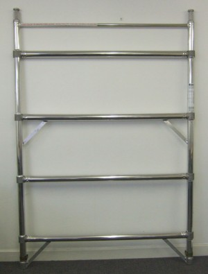 Euro Towers FKD4/8 4 Rung Double Width Frame