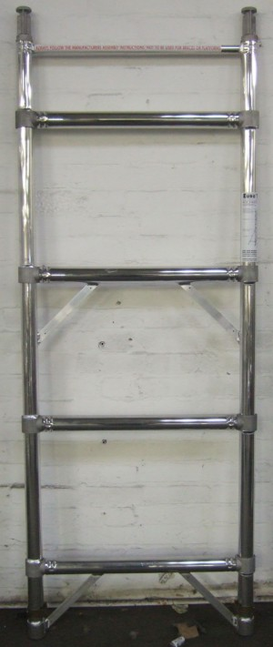 Euro Towers FKS4 4 Rung Single Width Frame