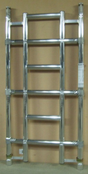 Euro Towers FSL3 3 Rung Single Width Ladder Frame