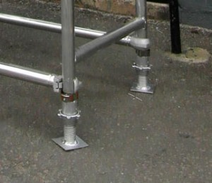 Euro Towers SWAL Adjustable Base Leg