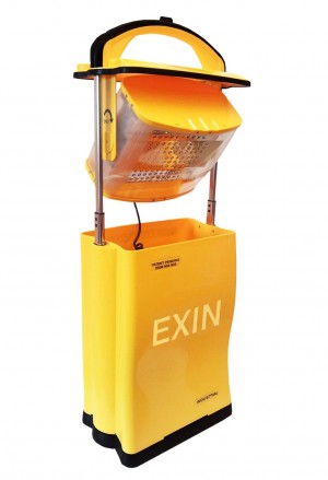 EXIN Smith Light IN120LB Long Run Rechargeable LED Portable Weatherproof Suitcase Work Light