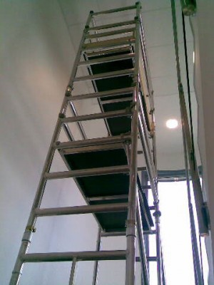Extension Pack for Euro Stairwell Access Platform Tower Unit