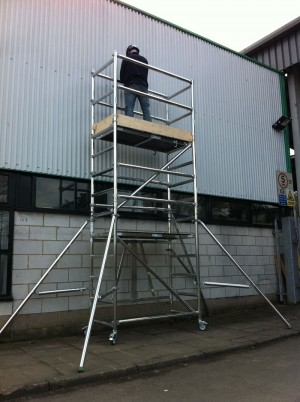 Extension Packs for Euro Minifold Folding Work Platform (various heights)