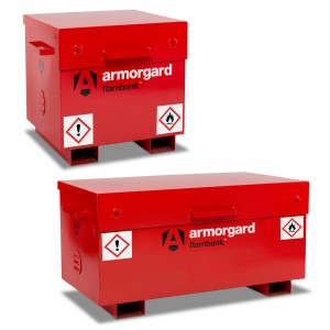 Armorgard FlamBank Flammable Liquids Safe Storage Site Vault Box (Various Sizes)