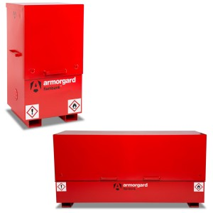 Armorgard FlamBank Flammable Liquids Safe Storage Site Chest Box (Various Sizes)