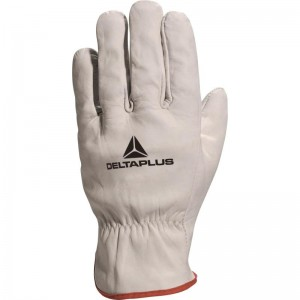 Delta Plus FBN49 Safety Gloves (Various Sizes) Full Grain Cowhide Leather