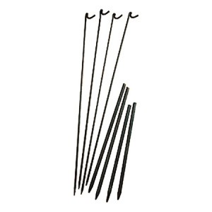 Steel Fencing Pin with Lamp Hook 8mm x 1350mm - Pack of 10