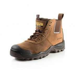 Buckler BHYB2BR Anti-Scuff Safety Work Boots Brown (Sizes 6-13)