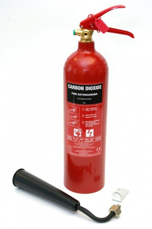 Fire Extinguisher CO2 Gas (2 & 5Kg options)