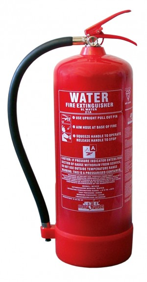 Fire Extinguisher Water 9 Litre