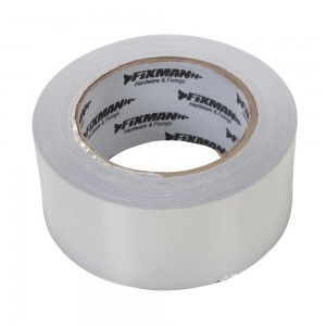 Fixman Aluminium Adhesive Foil Tape (Various Sizes)