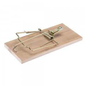 Fixman Hardwood Spring Action Rat Trap 175mm