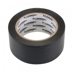 Fixman Polythene Jointing Adhesive Tape Black (Various Sizes)