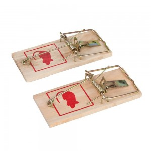 Fixman Wooden Mouse Trap Pack of 2