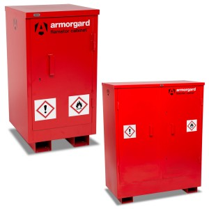 Armorgard FlamStor Flammable Liquids Safe Storage Site Cabinet (Various Sizes)