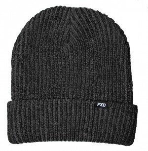 FXD CP-3 Beanie Hat Charcoal Grey Acrylic