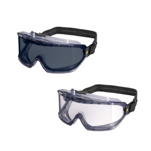 Delta Plus GALERAS Goggles Polycarbonate Lens (Clear or Smoke)