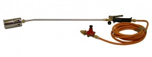 Gas Burning Torch 200mm with Regulator