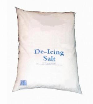 General Purpose White De-Icing Salt 25kg (Rock Salt equivalent)