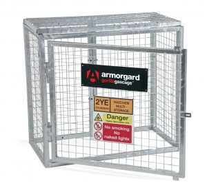 Armorgard Gorilla Secure Gas Bottle Storage Cage (Various Sizes)