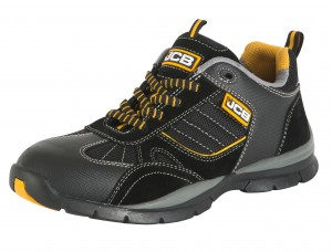 JCB GRANITE Sporty Safety Trainer Black (Sizes 6-13)