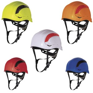 Delta Plus GRANITE WIND Safety Hard Hat Helmet With Chin Strap ABS Ventilated (Various Colours)