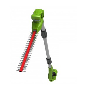 Greenworks G24LRHT Cordless 24v Long Reach Cordless Hedge Trimmer 51cm/20in Bare Unit