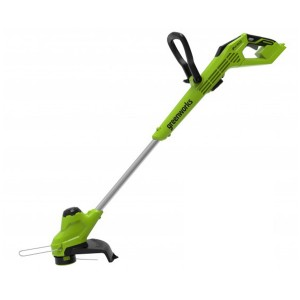Greenworks G24LT28 Cordless 24v Line Trimmer 28cm/11in Bare Unit