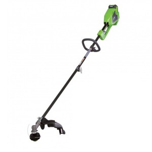 Greenworks GD40BC Cordless 40v Top Mount Line Trimmer 35cm/14in Bare Unit