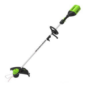 Greenworks GD60LT Cordless 60v Bottom Mount Line Trimmer 36cm/14in Bare Unit